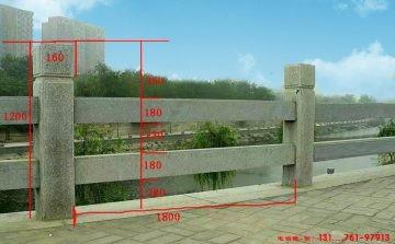 石护栏尺寸设计制作和石栏杆扶手价格