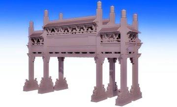 石牌楼各个构件制作作用详解