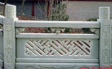 景观栏杆的作用和石栏杆高度尺寸设计