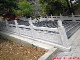 石栏杆石材护栏的基本构件是什么