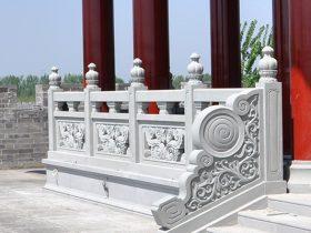 古建筑石栏杆栏板雕刻厂家施工介绍