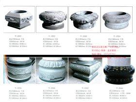 六个好看的古建筑柱础石图片