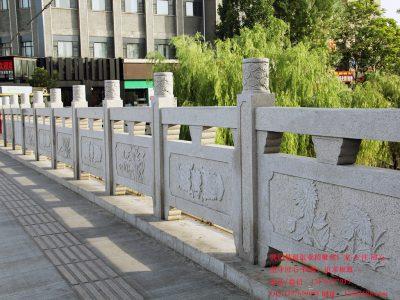 桥梁的护栏和桥栏杆雕刻介绍