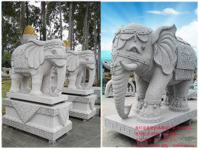 大象石雕摆放大门口的基本事项