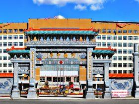 农村石牌坊吉祥文化和学府石牌楼的色彩象征