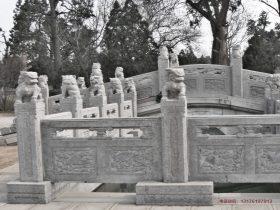 仿古护栏图片大全-仿古石栏杆雕刻注意事项