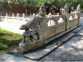 大理石护栏价格多少钱一米_湖边花岗岩栏杆效果图设计石栏板雕刻制作