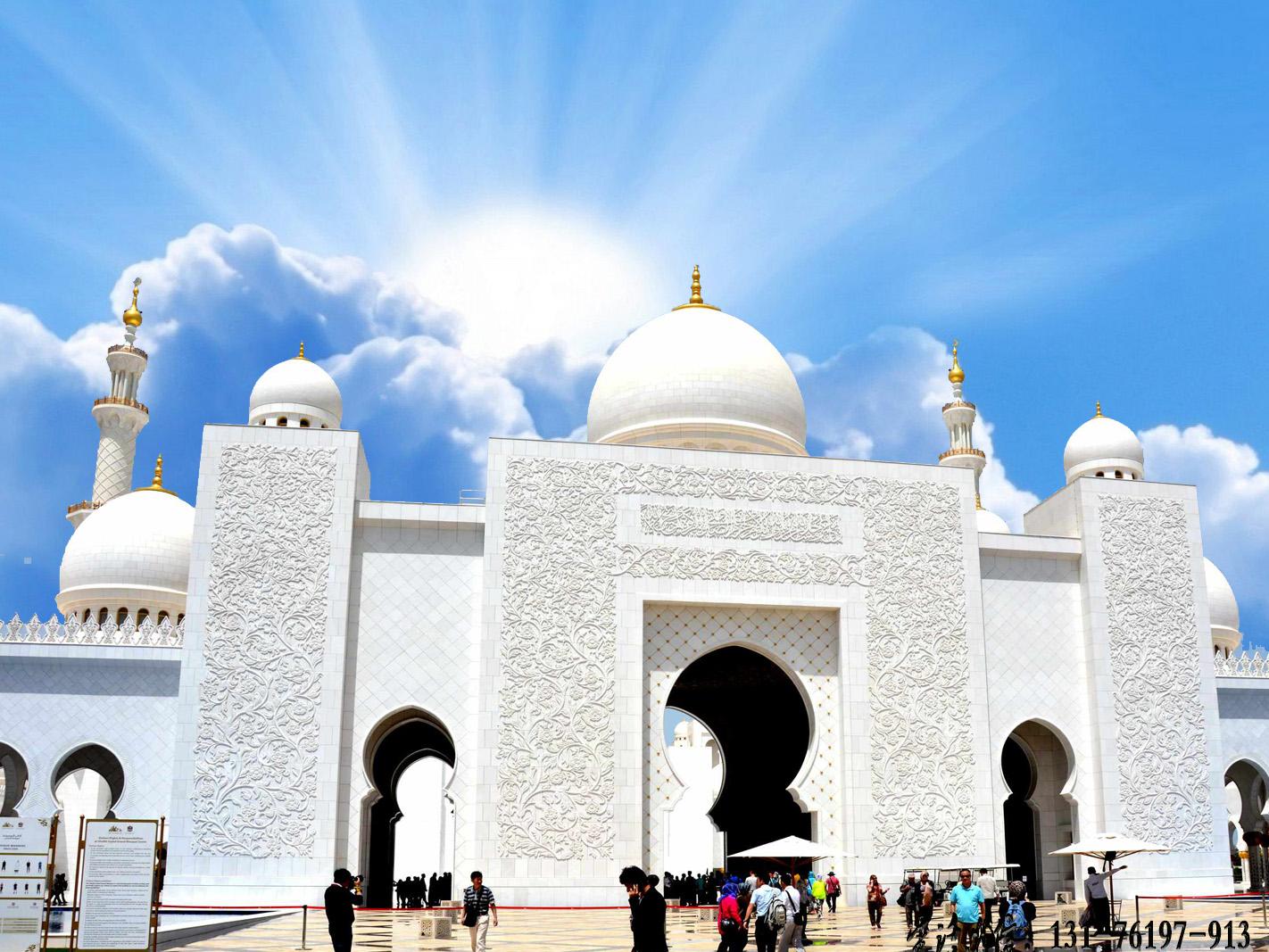 清真寺大门浮雕