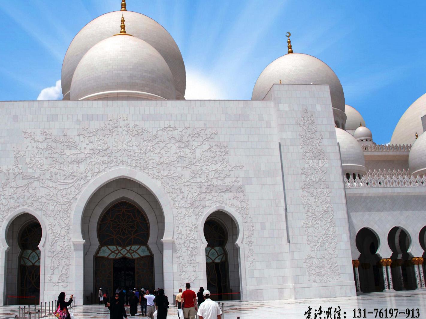 清真寺浮雕壁画