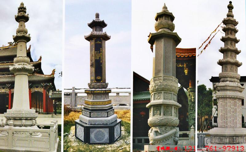 寺院石经幢
