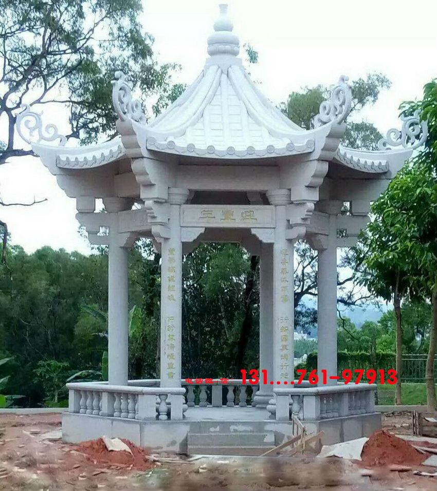 福建广州样式石凉亭