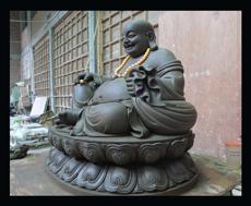 寺院雕刻弥勒佛石雕设计图