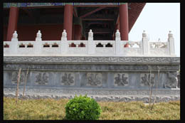 佛教石雕栏板佛台图案介绍