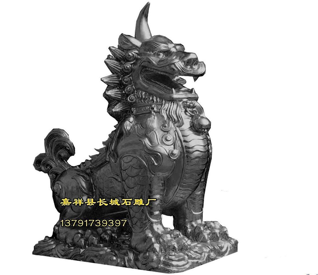 貔貅雕刻图_貔貅开光_石雕貔貅怎么开光 - 嘉祥长城雕刻有限公司