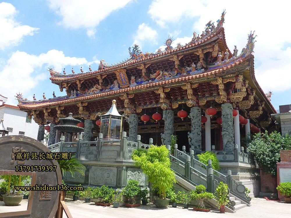 寺院石雕的装饰型