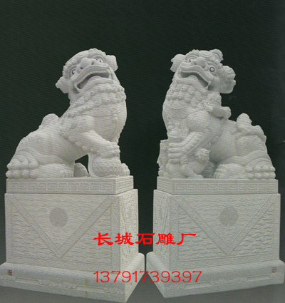 石雕狮子-南派祥狮的造型