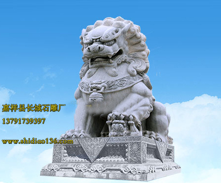 传统宅门石狮有什么作用呢