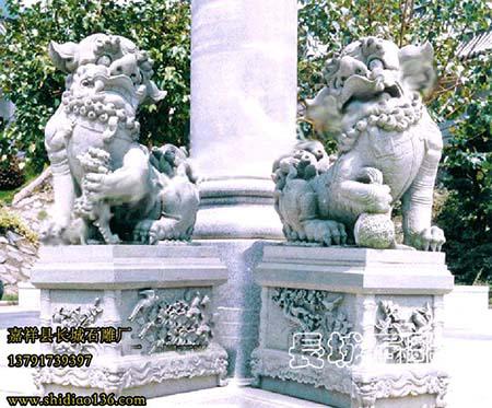 石狮子的起源-南方北方狮子的区别