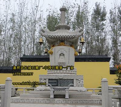 佛教中的佛塔佛殿最早建于什么时期