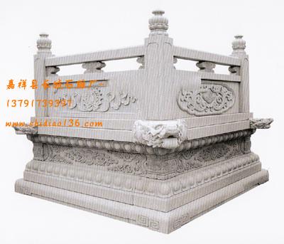 佛教佛台须弥座栏板雕刻