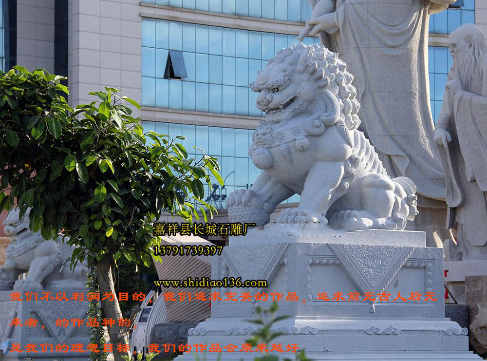 花岗岩石狮雕刻样式