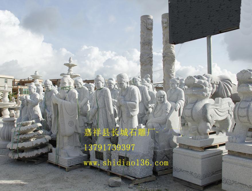 石雕二十四孝-优质花岗岩二十四孝雕刻