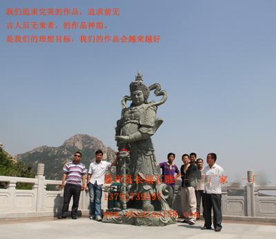 佛像雕刻-石雕韦驮-护法天尊的作用