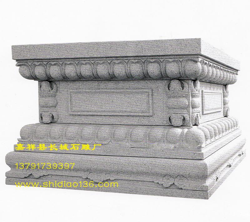 须弥座-花岗岩寺院须弥座雕刻