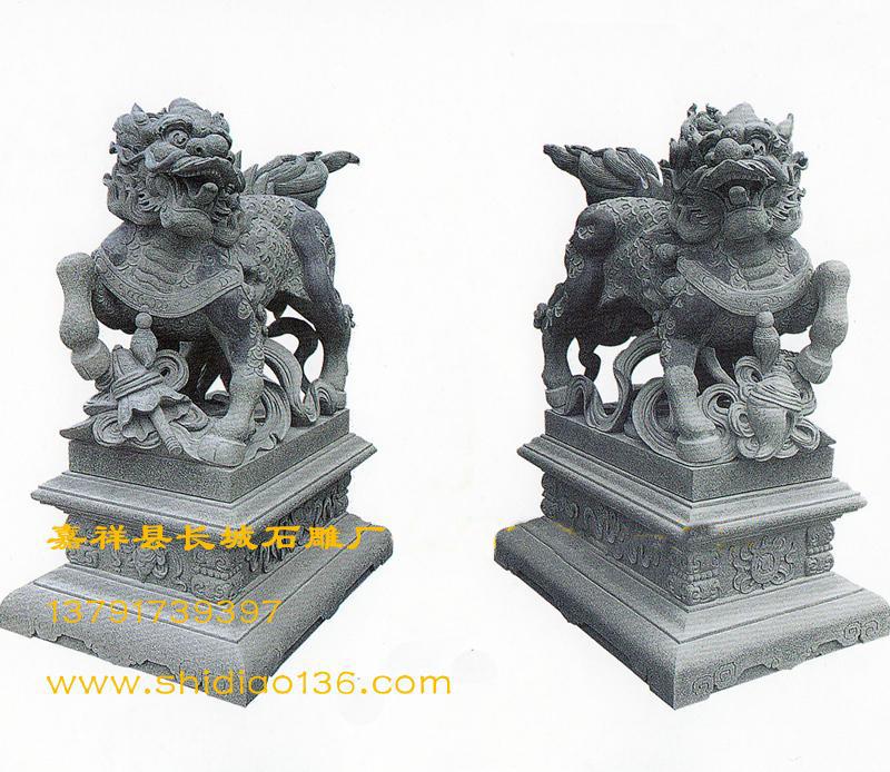 石雕麒麟-祥瑞作用-麒麟送子的传说