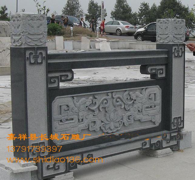 栏杆-栏板的雕刻及制作