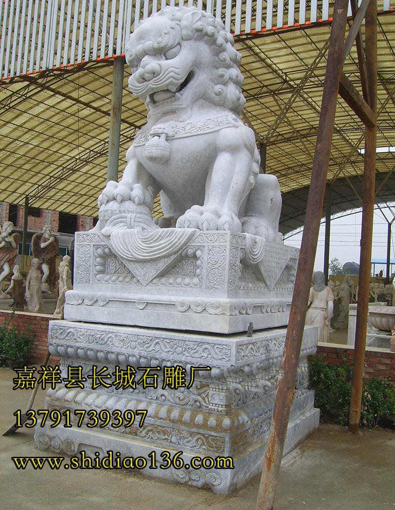 石雕狮子的风水作用