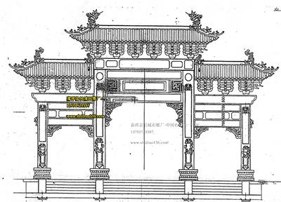 中国古代建筑结构图纸