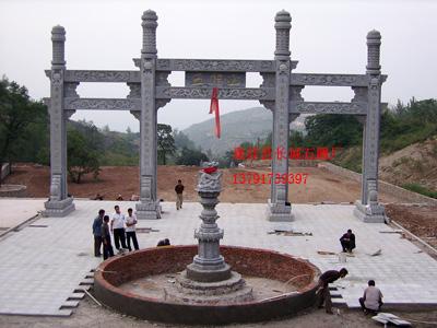 石雕牌坊石牌楼设计注意什么