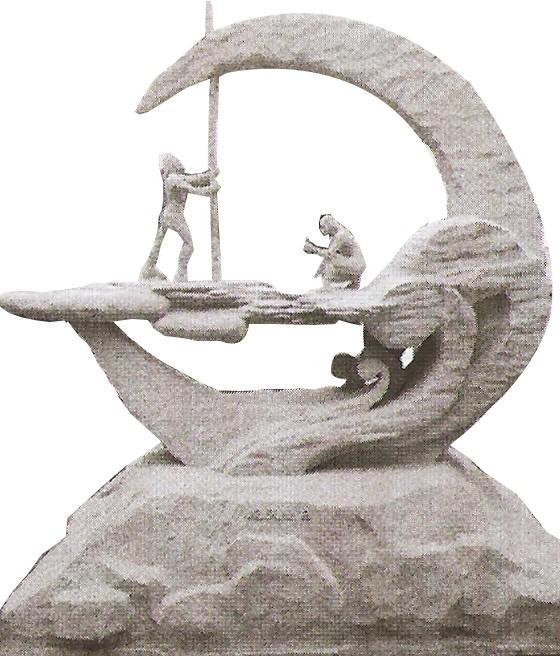 石雕作品之赣榆得名的故事