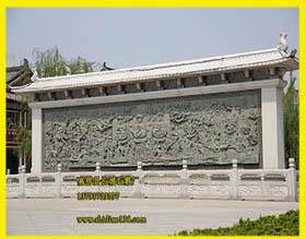 寺院浮雕照壁与现代浮雕和石雕的关系