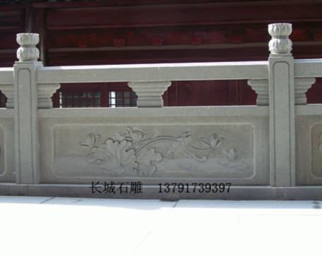 北方佛教寺院石雕栏杆整体分类与特点