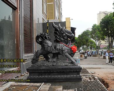 石雕麒麟石狮子的完美雕刻是什么样的
