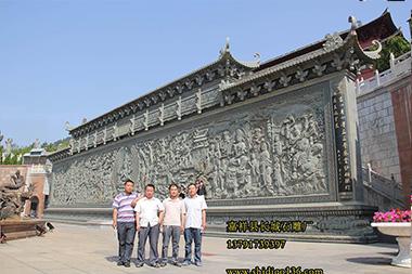 寺院浮雕观音照壁|浮雕佛像