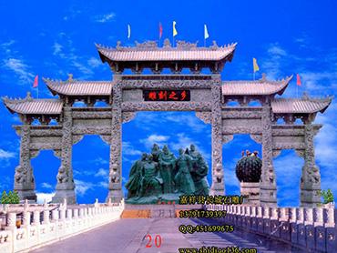 观赏石牌坊,领略中华民族的建筑艺术与美德