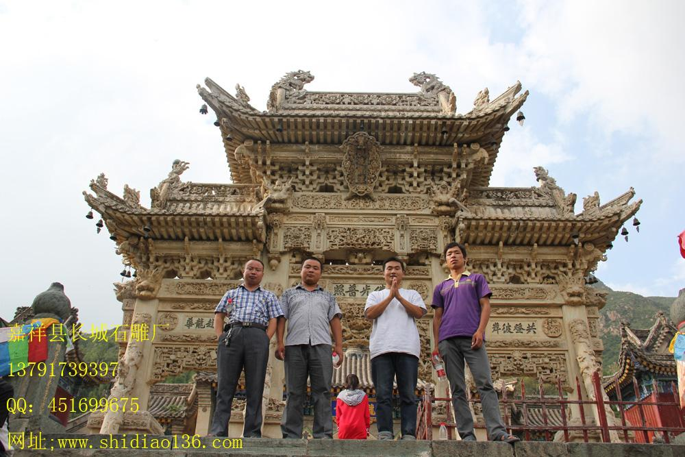 寺院牌楼雕刻