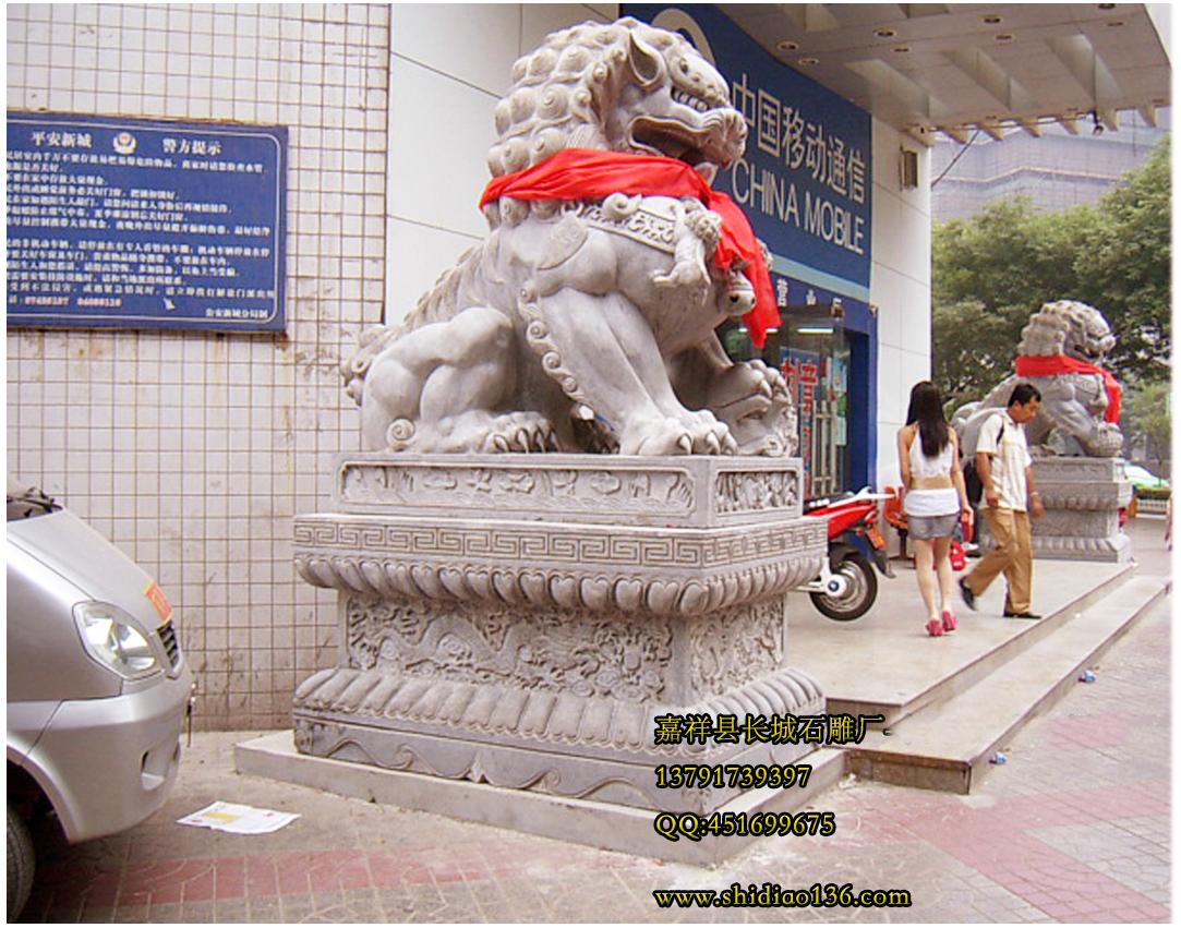 商场石狮子