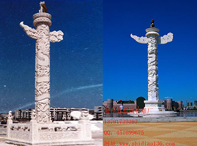 北京华表雕刻