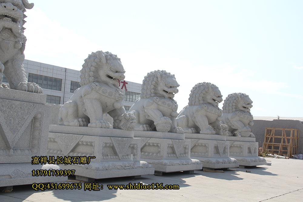花岗岩狮子