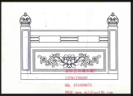 经常被忽视的石雕-寺院栏杆制作系列