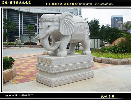 石雕大象价格是怎么制定的