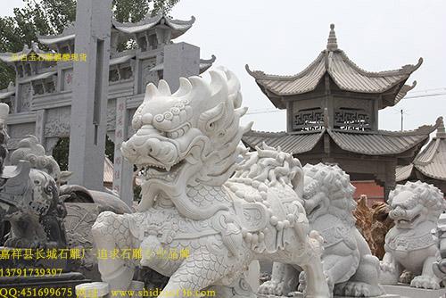 石雕麒麟为什么是吉祥瑞兽和艺术与神灵中的麒麟
