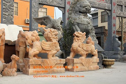 石雕貔貅的传说和貔貅的风水作用你知道吗