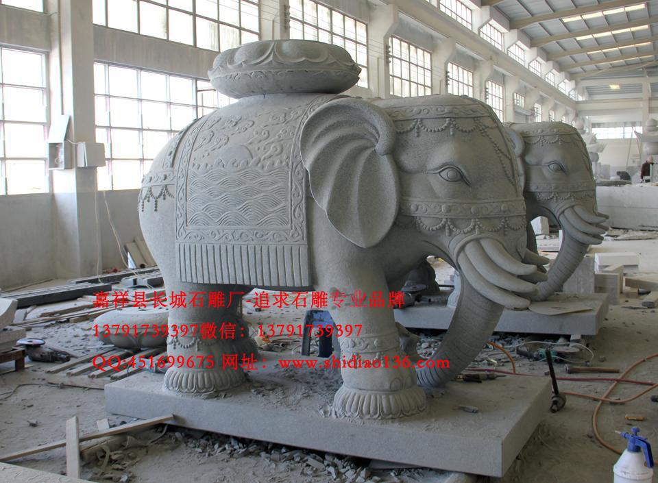 最精美的大象雕刻
