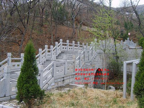 花岗岩石栏杆简易造型