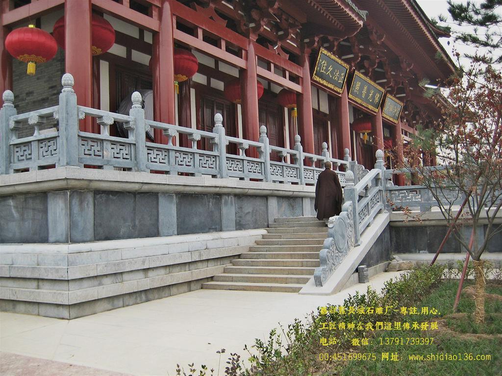 寺院栏板雕刻